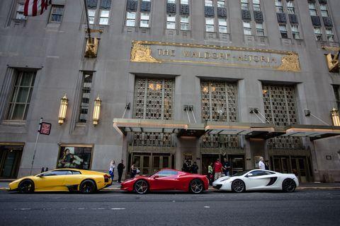 Waldorf-Astoria Driving Experience