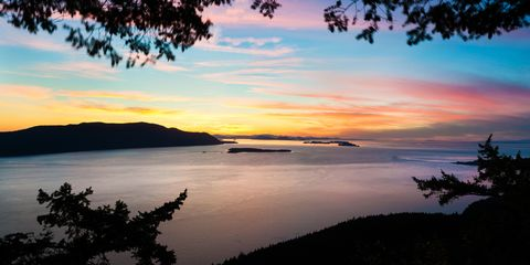 Nature, Sky, Cloud, Dusk, Sunset, Natural landscape, Evening, Sunrise, Horizon, Afterglow,