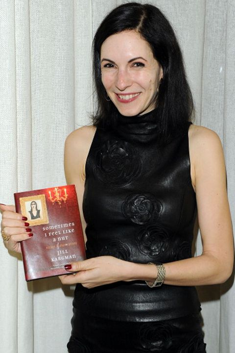 """NEW YORK, NY - FEBRUARY 02:  Writer Jill Kargman attends the CHANEL celebration of her new book, """"Sometimes I Feel Like a Nut: Essays and Observations"""" at Chanel 57th Street Boutique on February 2, 2011 in New York City.  (Photo by Andrew H. Walker/Getty Images for Chanel)"""