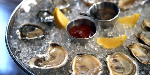 Fluid, Liquid, Food, Ingredient, Oyster, Bivalve, Seafood, Recipe, Shellfish, Lemon,