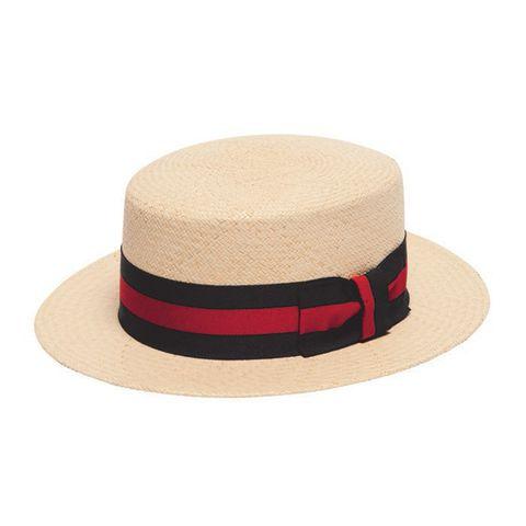 Brown, Line, Headgear, Hat, Khaki, Costume accessory, Rectangle, Maroon, Tan, Beige,
