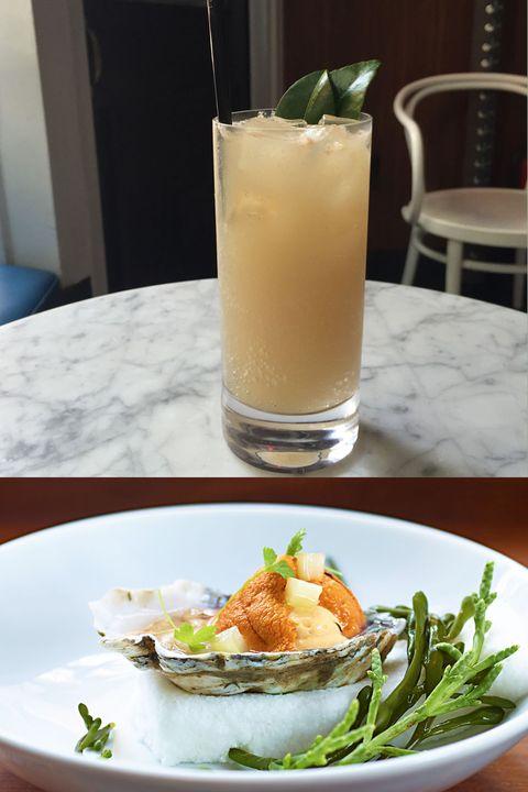 Dishware, Food, Drink, Ingredient, Tableware, Cocktail, Produce, Serveware, Classic cocktail, Juice,