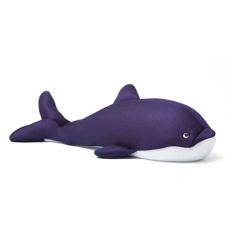 Purple, Fin, Marine mammal, Fish, Animal figure, Marine biology, Whale, Cetacea, Ray-finned fish,