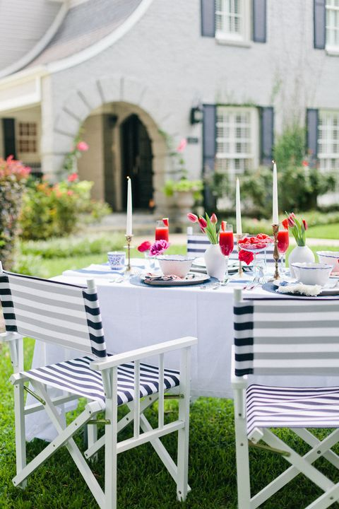 Window, Furniture, Outdoor furniture, Table, Outdoor table, Linens, Arch, Tablecloth, Yard, Patio,