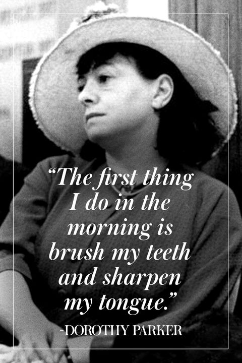Dorothy Parker's Best Quotes Enchanting Dorothy Parker Quotes