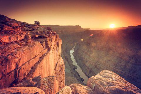 Sun, Rock, Amber, Bedrock, Sunlight, Terrain, Geology, Formation, Sunrise, Fault,