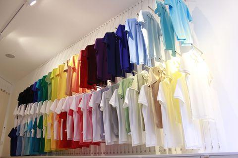 Clothes hanger, Home accessories, Collection, Outlet store, Boutique, Fashion design, Dye, Closet, Retail,