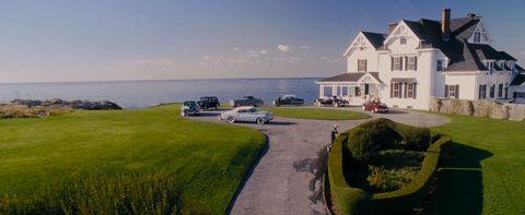 Coastal and oceanic landforms, Window, Property, Landscape, House, Land lot, Real estate, Coast, Home, Roof,