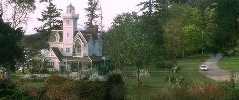 Nature, Property, Landscape, Tree, Real estate, Landmark, House, Land lot, Roof, Home,