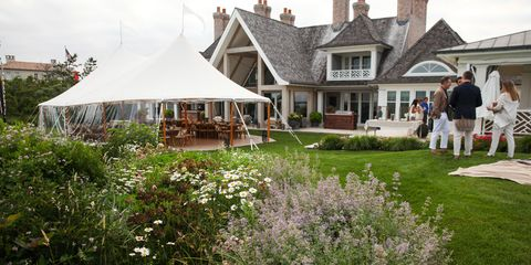 Plant, House, Shrub, Roof, Garden, Real estate, Tent, Home, Gazebo, Lawn,