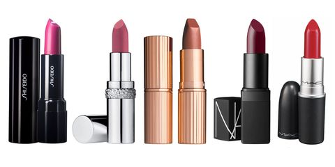 Brown, Lipstick, Liquid, Peach, Pink, Magenta, Tints and shades, Cosmetics, Orange, Beauty,