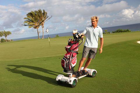 Landscape, Plain, Golf course, Grassland, Ball game, Golf equipment, Golf bag, Golf club, Golf, Arecales,