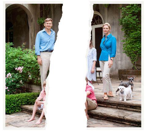 Leg, Human, People, Photograph, People in nature, Arch, Dog breed, Garden, Shrub, Companion dog,
