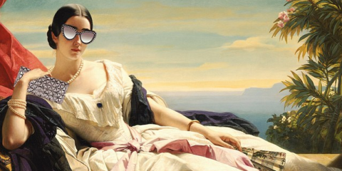 Art, Sunglasses, Goggles, Painting, Illustration, Gown, Fashion model, Bed sheet, Fashion illustration, Linens,