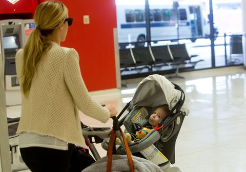 Product, Baby carriage, Baby Products, Comfort, Sweater, Floor, Flooring, Luggage and bags, Television, Baby safety,