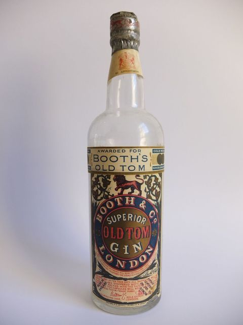 <p>1920s. This one was acquired as empty bottle, but would cost £300 if it were full & unopened.</p>