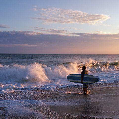 Surfing Equipment, Surfboard, Fluid, Liquid, Surface water sports, Ocean, Wave, Horizon, Boardsport, Wind wave,