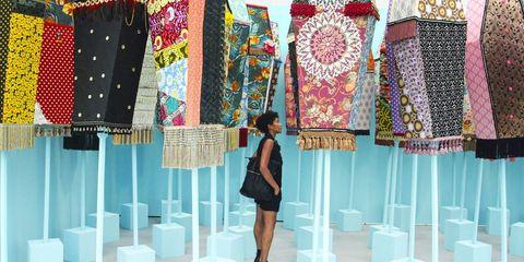 Textile, Pattern, Style, Fashion, Street fashion, Teal, Magenta, Aqua, Turquoise, Electric blue,