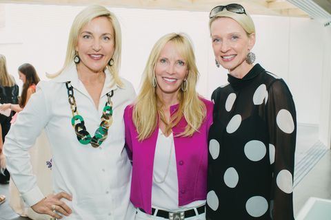 Karin Luter, Nancy Rogers, Nicola Marcus, November 2015, Inner Circle, Fendi