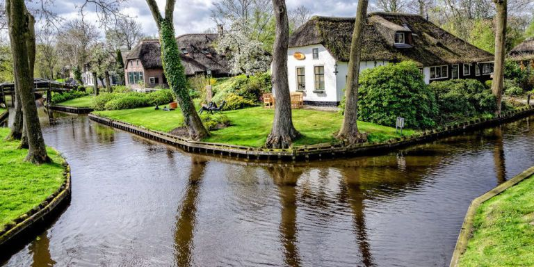 There is a Magical Little Town Where the Streets Are Made of Water