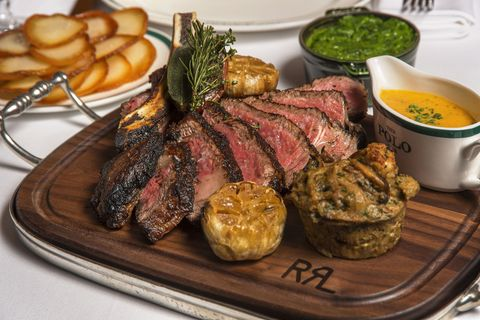Double RL Beef At The Polo Bar