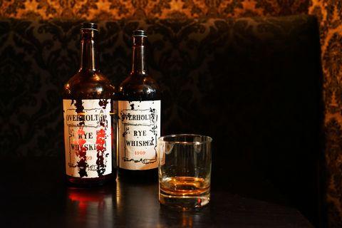 Liquid, Fluid, Brown, Glass bottle, Alcohol, Bottle, Alcoholic beverage, Drink, Barware, Amber,