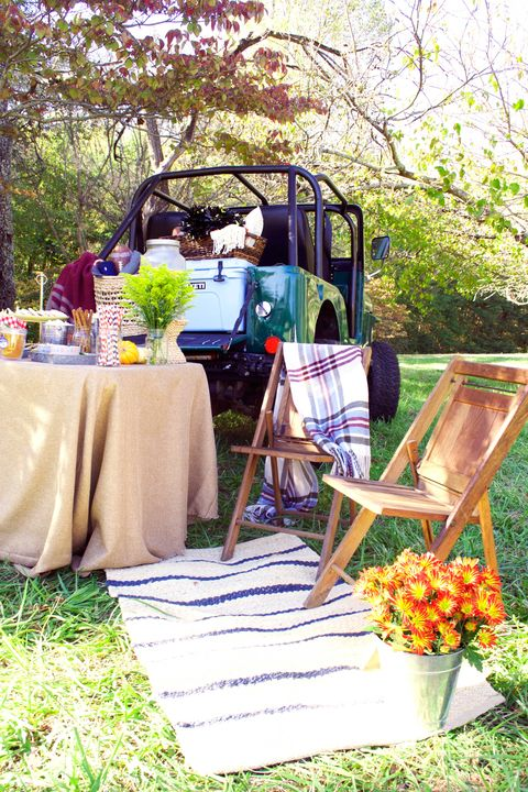 Yellow, Picnic, Grass, Backyard, Recreation, Event, Table, Plant, Party, Fruit,
