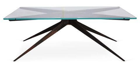 """<p>""""[This was] our coffee table for years,"""" Martin says. """"We got a new one just like it.""""</p>"""
