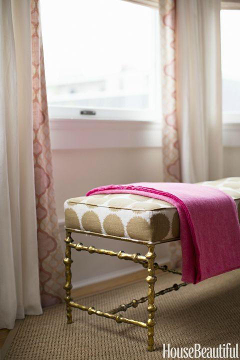 Interior design, Room, Textile, Window treatment, Linens, Bed, Window covering, Interior design, Bedding, Fixture,