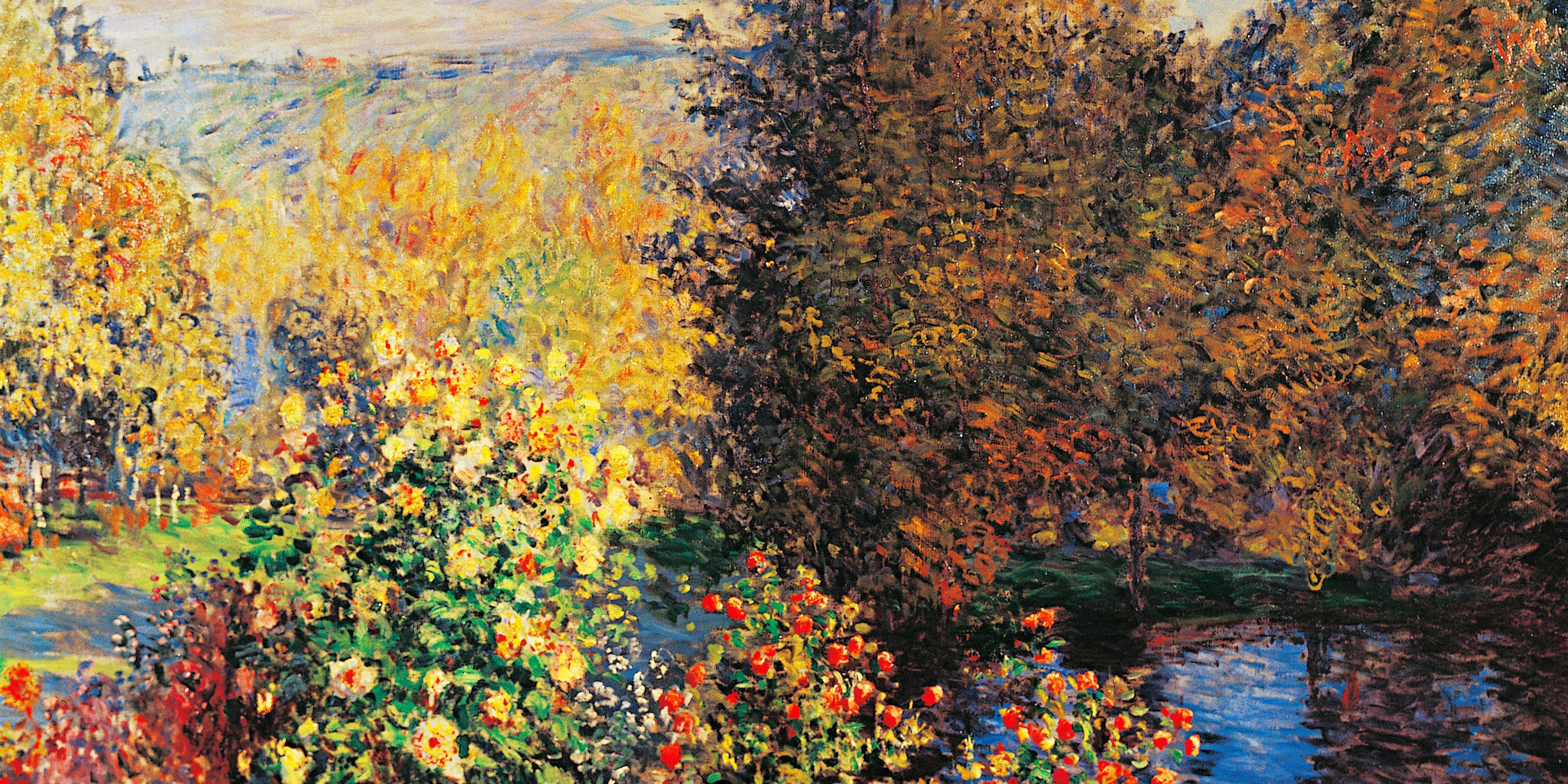 This Is What Monet\'s Garden Looks Like In The Fall