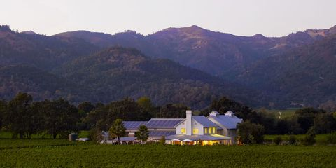 Mountainous landforms, Plant, Mountain range, Highland, Hill, Farm, Land lot, Landscape, Rural area, Field,