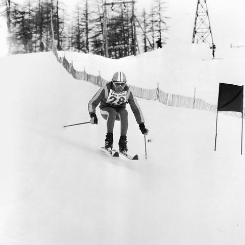 Sports equipment, Winter sport, Slope, Ski, Skier, Ski pole, Ski Equipment, Ski boot, Ski cross, Downhill,