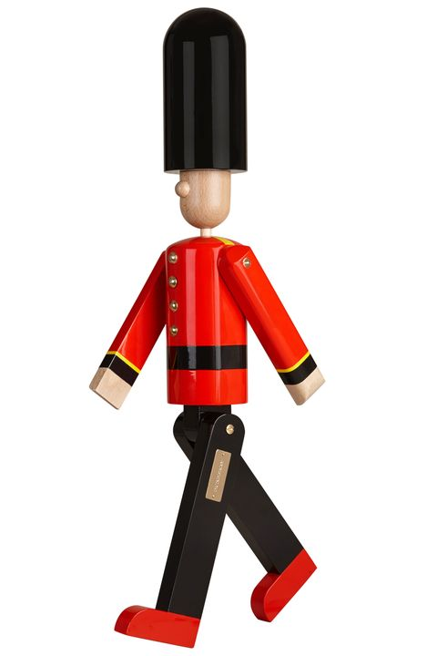 """<p>$1,540, <a href=""""https://us.burberry.com/mr-trench-limited-edition-wooden-puppet-p39883961"""">Burberry</a>.</p>"""