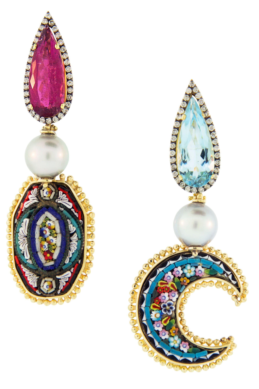 "<p>$23,540 a pair, <a href=""https://www.stanleykorshak.com/designer/417/Jewelry/2/Earrings/10"">Silvia Furmanovich</a>.</p>"