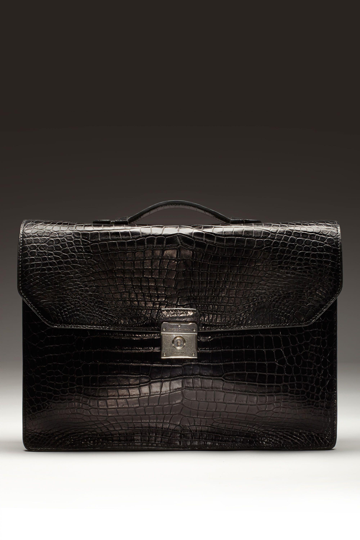 "<p>$27,500, <a href=""http://www.dunhill.com/en_usa/product_categories/leather_goods-en/"">Dunhill</a>.</p>"