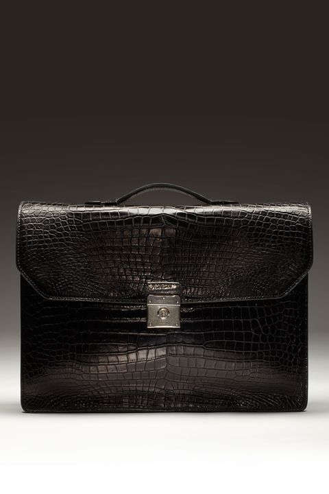 "<p>$27,500, <a href=""http://www.dunhill.com/en_usa/product_categories/leather_goods-en/"">Dunhill</a>.</p>"