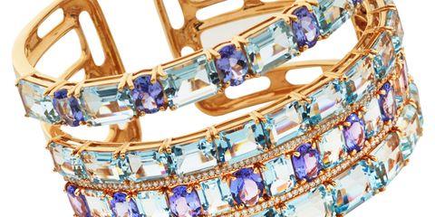 Blue, Product, Brown, Lavender, Pattern, Beige, Shoulder bag, Natural material,