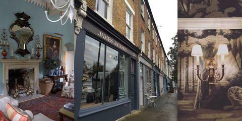 Neighbourhood, Town, Street, Fixture, Door, Flowerpot, Picture frame, Houseplant, Home door, Molding,