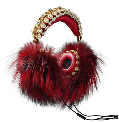 "<p>$7,995, <a href=""http://www.wearefrends.com/collections/dolce-gabbana/products/dolce-gabbana-red-fur-headphones"">FRENDS x Dolce & Gabbana</a></p>"