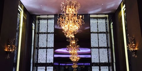 Lighting, Interior design, Ceiling fixture, Ceiling, Light fixture, Glass, Chandelier, Amber, Interior design, Tints and shades,