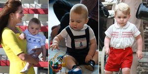 Prince George smocked clothes