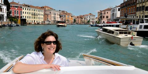 Eyewear, Body of water, Vision care, Sunglasses, Waterway, Goggles, Watercraft, Tourism, Boat, Building,
