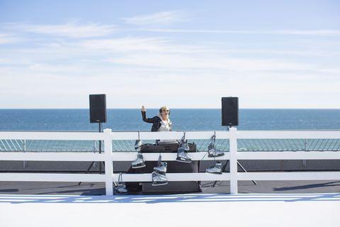 Ocean, Horizon, Sea, Dock, Sound,
