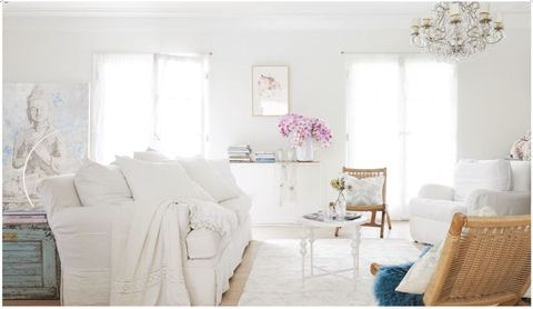 "<p>You can see Rachel Ashwell's mantra of ""beauty, comfort, and function"" clear as day in her gorgeous home — as well as both her traditional British heritage and now laid-back California lifestyle. </p>"