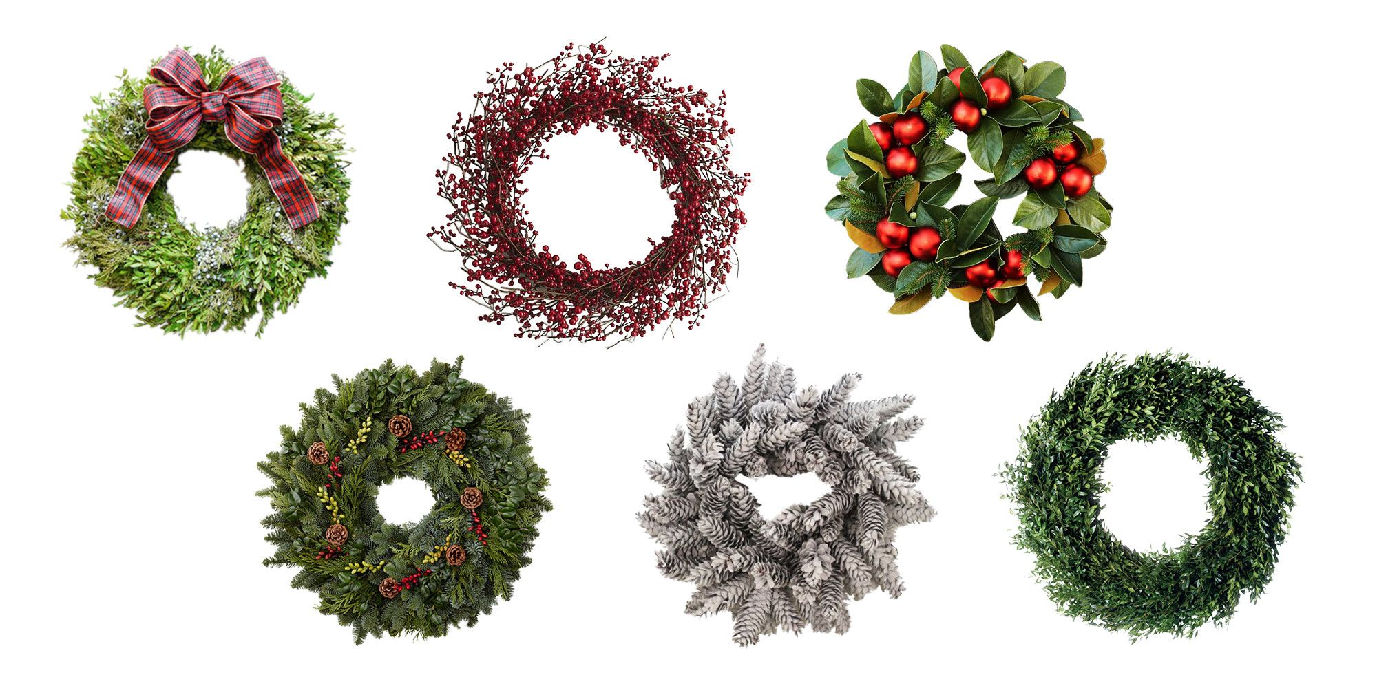 16 elegant christmas wreaths to buy online 2017 best holiday