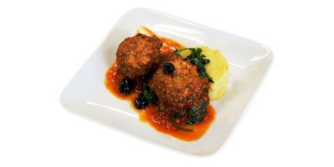 Food, Dish, Meat, Ingredient, Recipe, Fried food, Cuisine, Kofta, Dishware, Condiment,