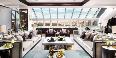 Room, Interior design, Green, Living room, Floor, Ceiling, Couch, Table, Home, Interior design,