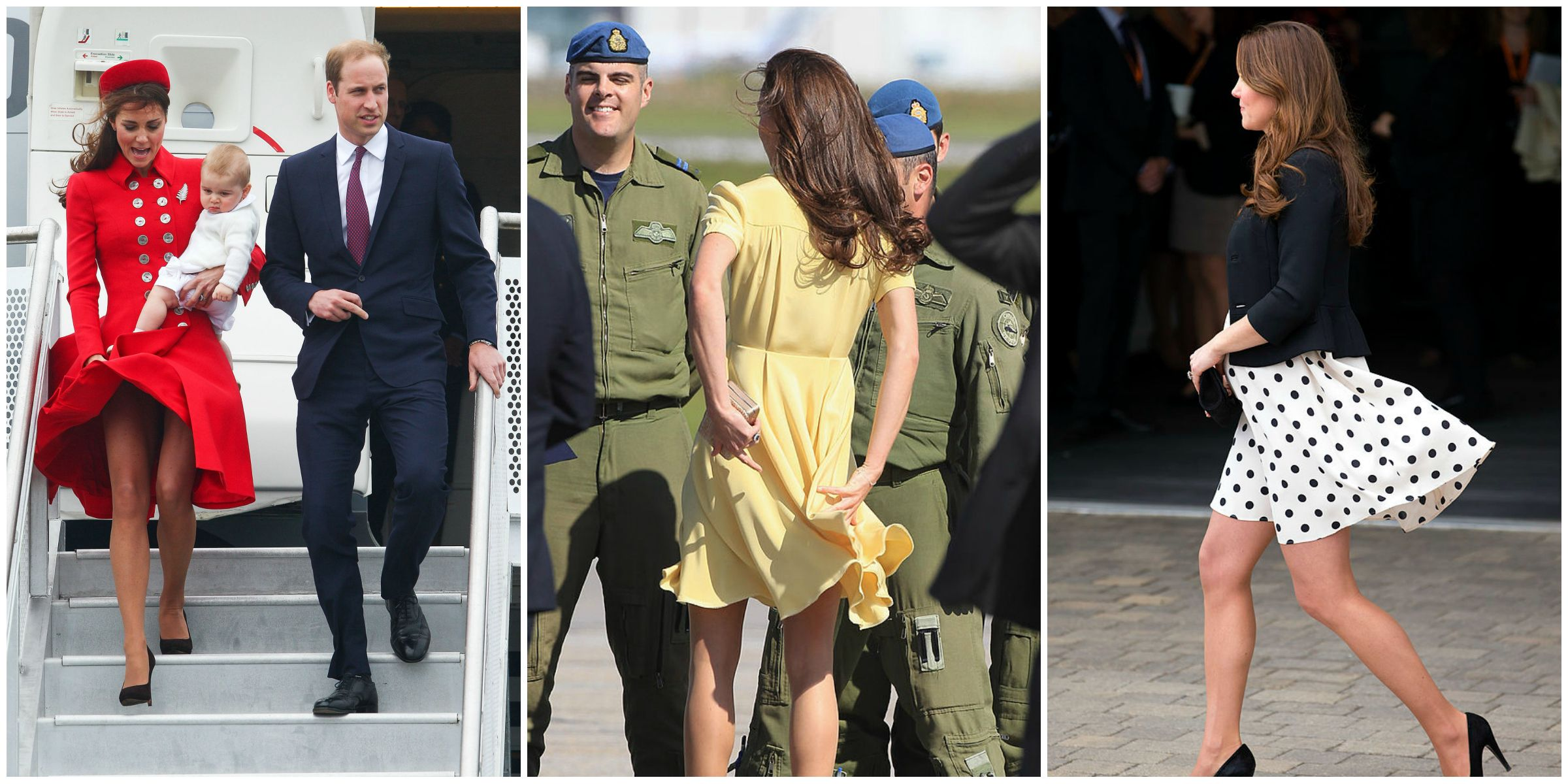 Kate Middleton Duchess Catherine hemlines