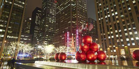 City, Metropolitan area, Red, Metropolis, Tower block, Building, Urban area, Facade, Skyscraper, Landmark,