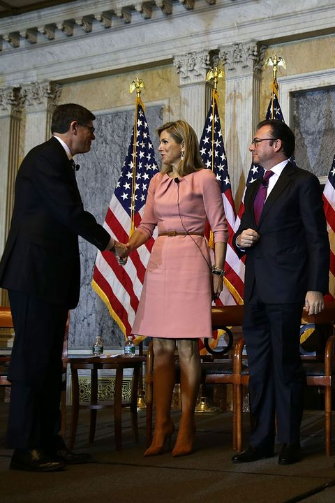 Flag, Leg, Trousers, Dress, Government, Suit, Coat, Formal wear, Suit trousers, Flag of the united states,